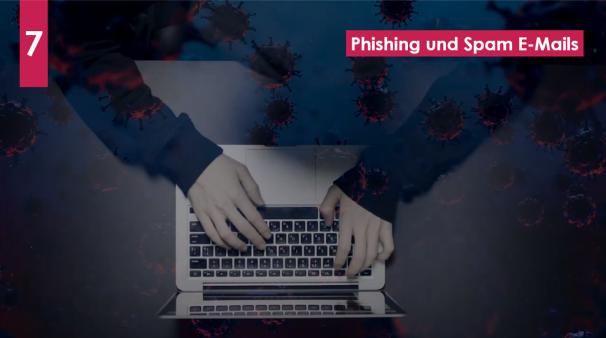 Cyberkriminelle nutzen die Gunst der Stunde - Bereiten Sie Ihre Mitarbeiter auf Phishing-Angriffe vor